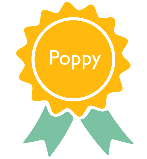 Number 1 most popular dog name - Poppy